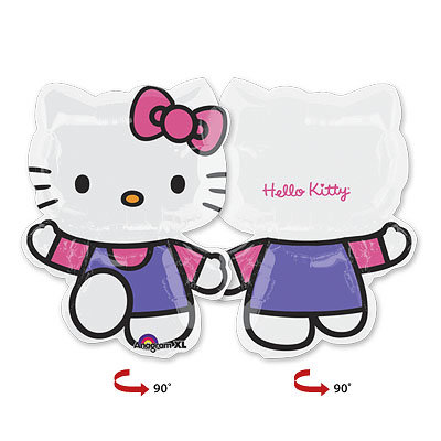 "Шар фигура ""Hello Kitty"""